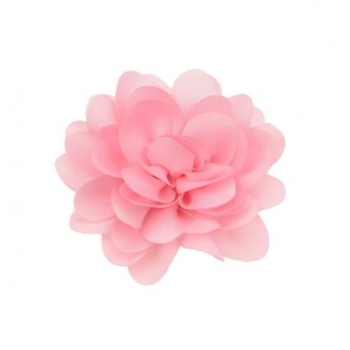 Шифоновый цветок пышный Розовый, 1 шт