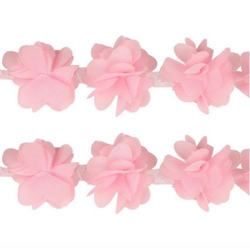 Шифоновые цветы Розовые фото