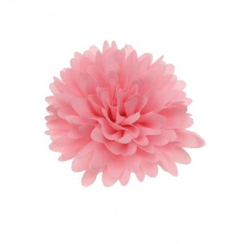 Шифоновый цветок супер пышный Розовый, 1 шт