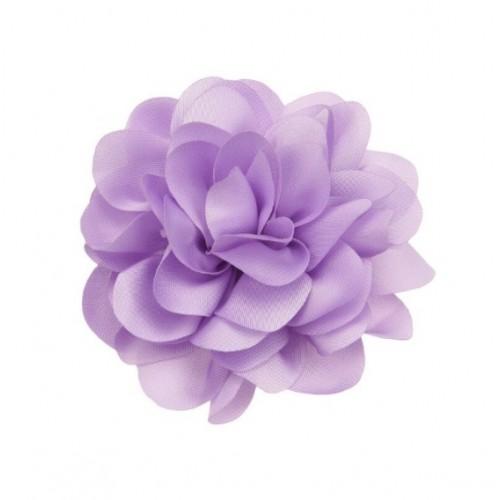 Шифоновый цветок пышный Сиреневый, 1 шт
