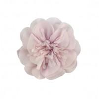 Шифоновый цветок с тычинками Бледно-розовый