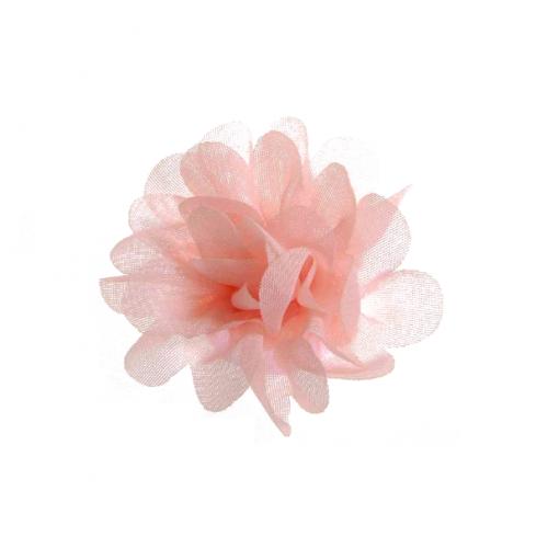 Шифоновый цветок пышный Персиковый, фото