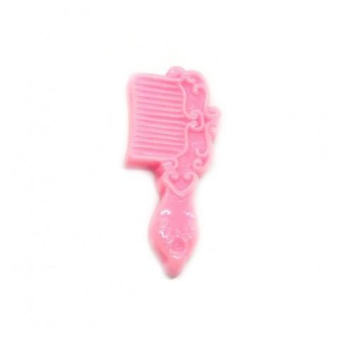 Фигурка из пластика Расческа розовая