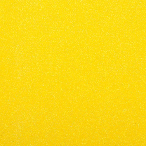Фоамиран с глиттером на клеевой основе Желтый, 20*30 см