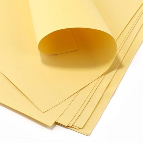Фоамиран листовой Кремовый фото