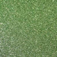 Фоамиран с глиттером на клеевой основе Травяной, 20*30 см