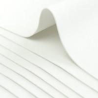 Фоамиран листовой Белый, 50х50 см