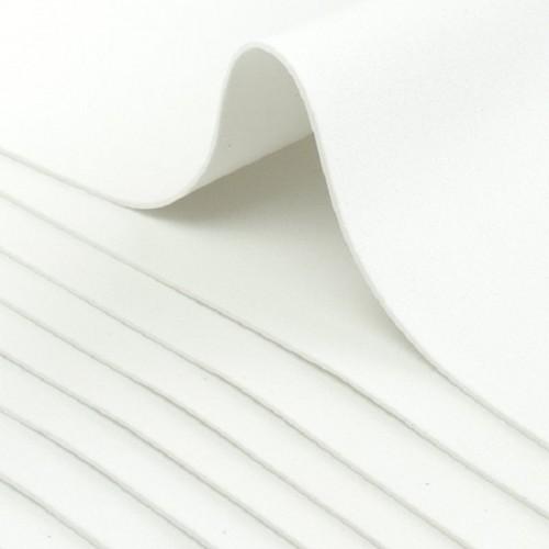 Фоамиран листовой Белый фото