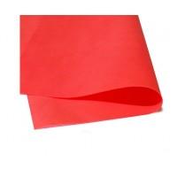Фоамиран листовой Красный, 50х50 см