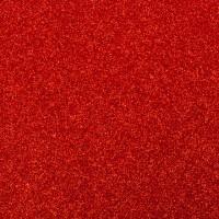 Фоамиран с глиттером на клеевой основе Красный, 20*30 см