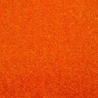 Фоамиран с глиттером на клеевой основе Оранжевый, 20*30 см