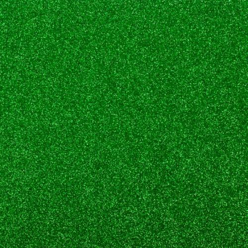 Фоамиран с глиттером Зеленый, 20*30 см