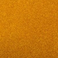 Фоамиран с глиттером на клеевой основе Золотой, 20*30 см