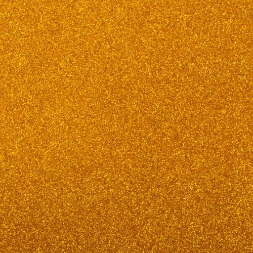 Фоамиран с глиттером на клеевой основе Золотой фото