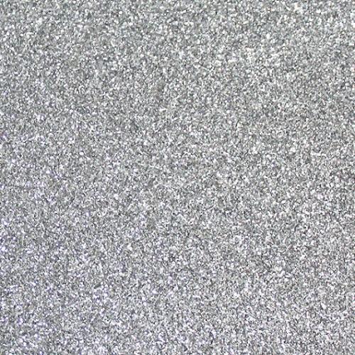 Фоамиран с глиттером Серебро, фото