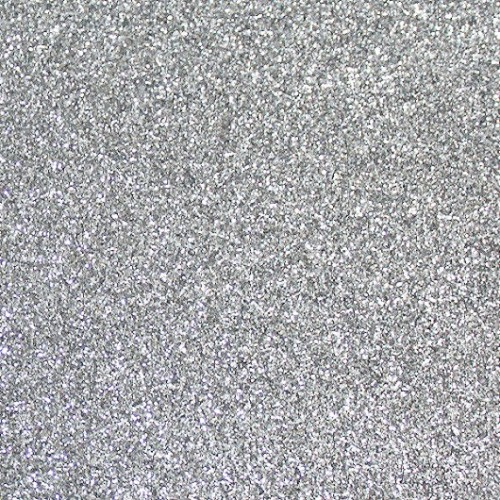 Фоамиран с глиттером Серебро, 20*30 см