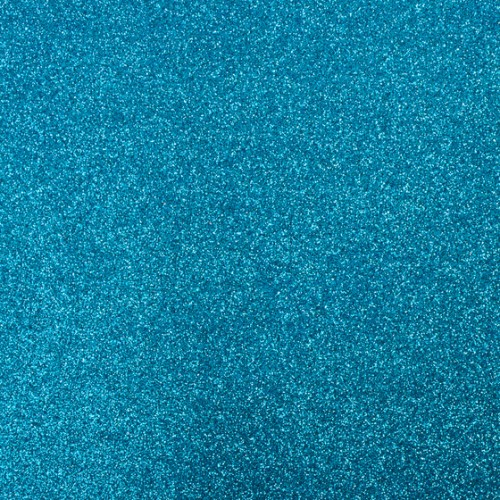 Фоамиран с глиттером на клеевой основе Голубой фото