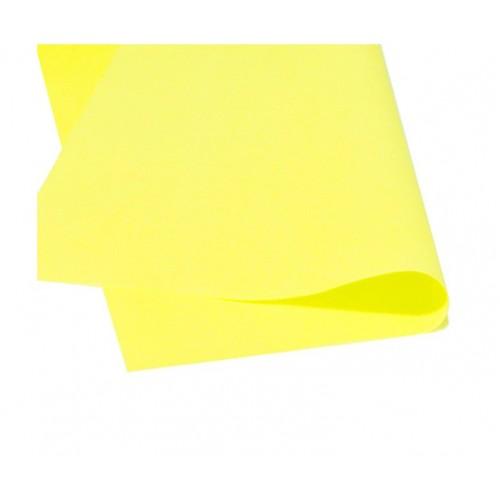 Фоамиран листовой Желтый, 50х50 см