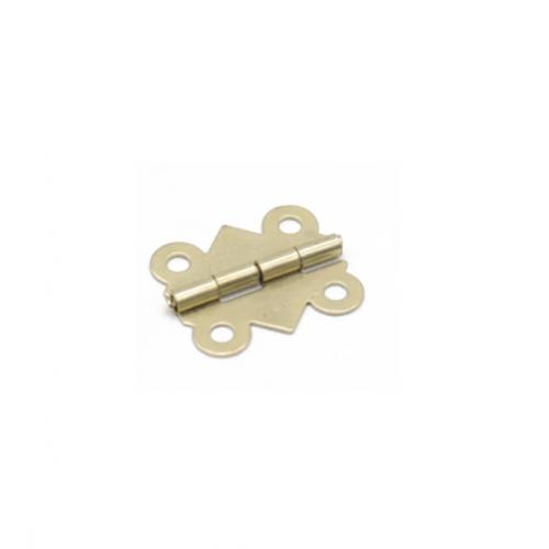 Петля накладная Золото, 20х17 мм, фото
