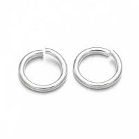 Колечки одинарные открытые Серебро 4 мм, 5 г