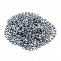 Цепь шариковая Серебро 2.4 мм, 1 м