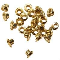 Люверсы Золото 6,5 мм, 10 шт