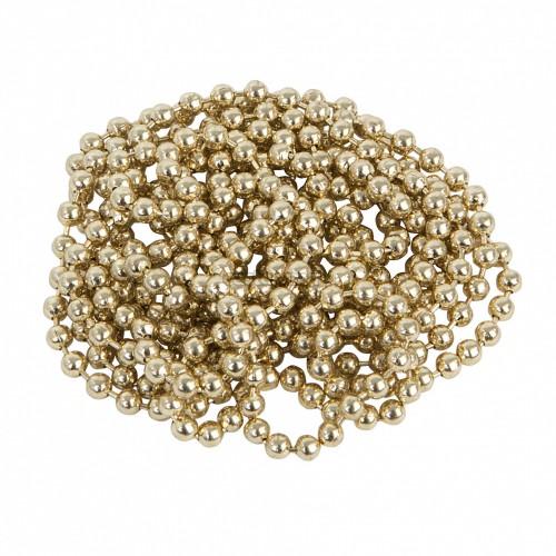 Цепь шариковая золото, 2.4 мм, 1 м