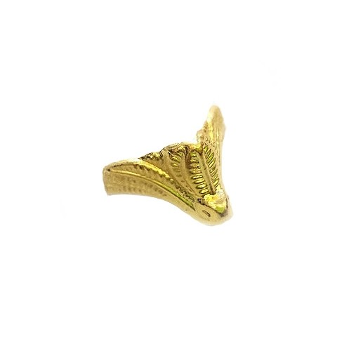 Ножка шкатулочная металлическая Золото 20х18 мм фото