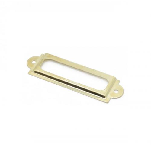 Металлическая накладка Рамка золото, фото