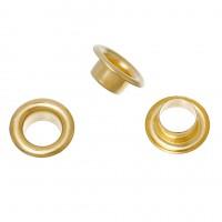 Люверсы Золото 8,5 мм, 10 шт