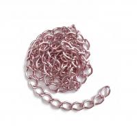 Цепь алюминиевая Розовая, 1 м