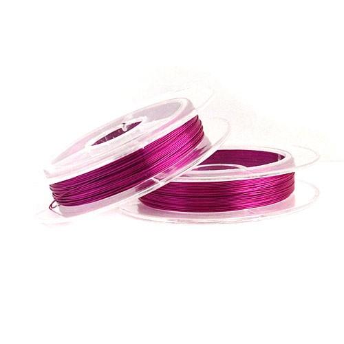 купить проволоку для бисероплетения 0,30 мм. фиолетовую