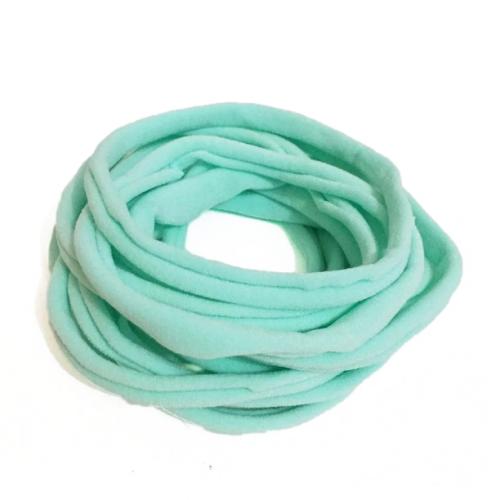 Бесшовная эластичная повязка для волос one size Мятный, фото