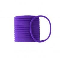 Бесшовная эластичная повязка для волос one size Фиолетовая