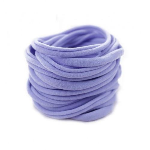 Бесшовная эластичная повязка для волос one size Сиреневая, фото