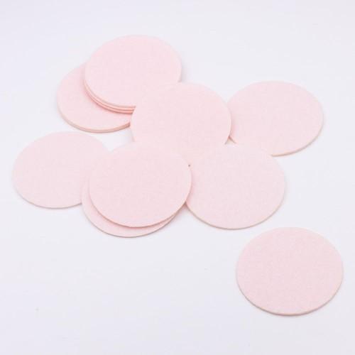 Круг из фетра розовый