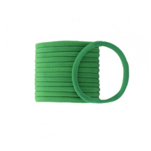 Бесшовная эластичная повязка для волос one size Зеленая фото