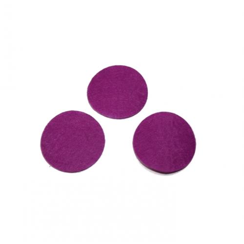 Круг из фетра фиолетовый