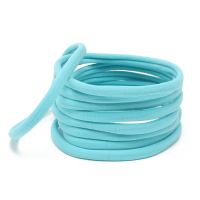 Бесшовная эластичная повязка для волос one size Голубая