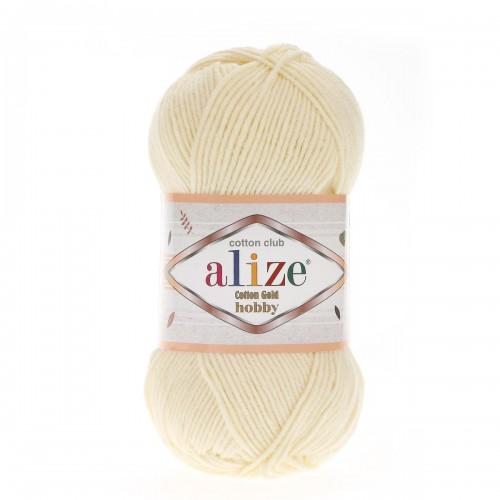 Alize Cotton Gold Hobby №01 кремовый