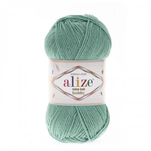 Alize Cotton Gold Hobby №15 водяная зелень