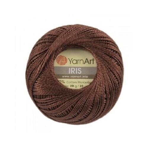 Нитки для вязания YarnArt IRIS шоколад №932 фото