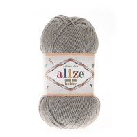 Alize Cotton Gold Hobby №21 серый