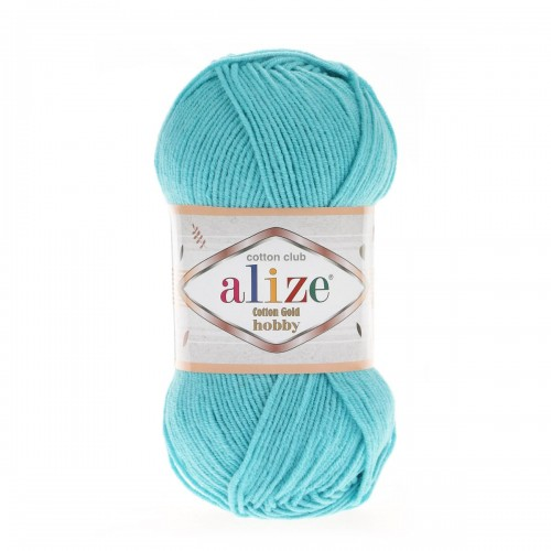 Alize Cotton Gold Hobby №287 бирюза