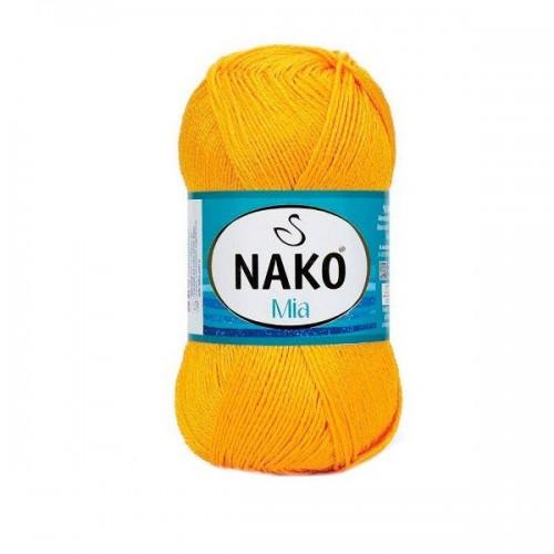 Нитки для вязания Nako Mia № 4132