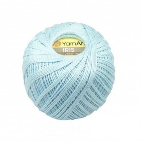 Нитки для вязания YarnArt IRIS голубой №925 фото