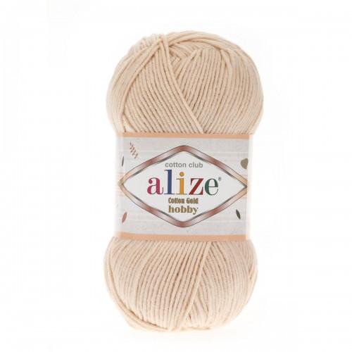 Alize Cotton Gold Hobby №67 молочно-бежевый