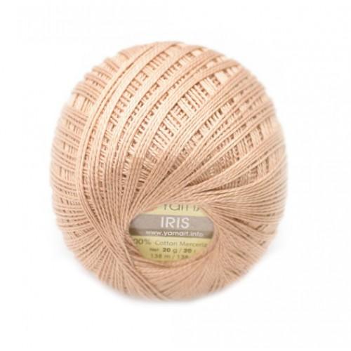 Нитки для вязания YarnArt IRIS карамель №930, 20 г