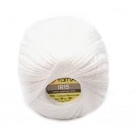 Нитки для вязания YarnArt IRIS белый №910, 20 г