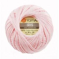Нитки для вязания YarnArt IRIS нежно-розовый № 914, 20 г
